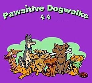 Pawsitive Dogwalks Logo